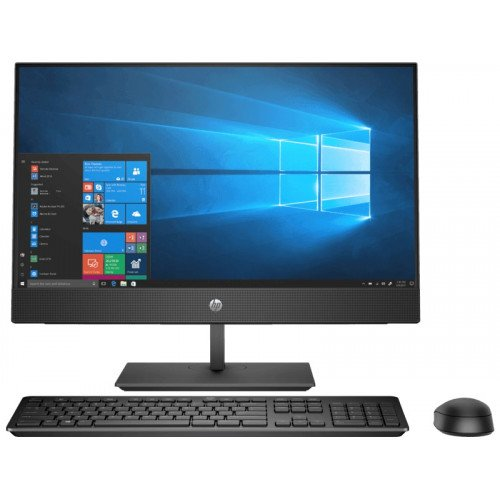 HP ProOne 400 G4 Intel Core i7-8700 Processor (12M Cache,3.20 GHz up to 4.60 GHz),8GB DDR4 RAM, 1TB HDD+128GB SSD ,Wireless Keyboard & Mouse, 23.8 Inch Full HD WLED-backlit Anti-glare All in One PC