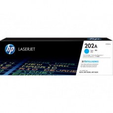HP 202A Cyan Original LaserJet Toner Cartridge