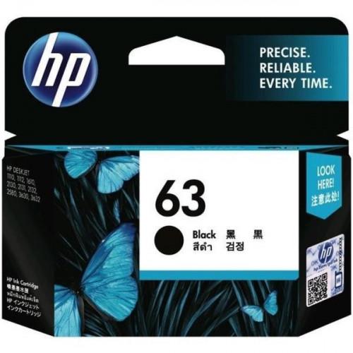 HP 63 Original Ink Black Cartridge
