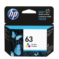 HP 63 Tri-color Original Ink Cartridge