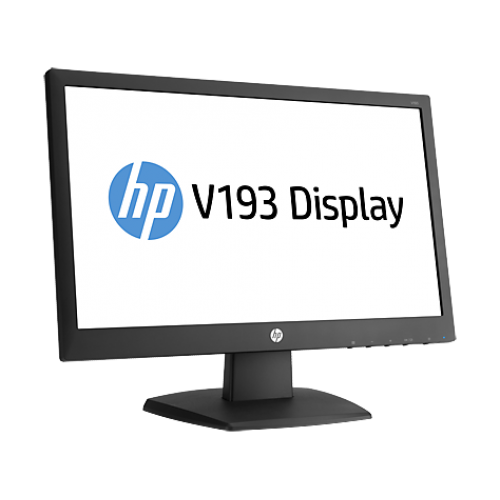 HP V193B 18.5-inch LED Backlit Monitor